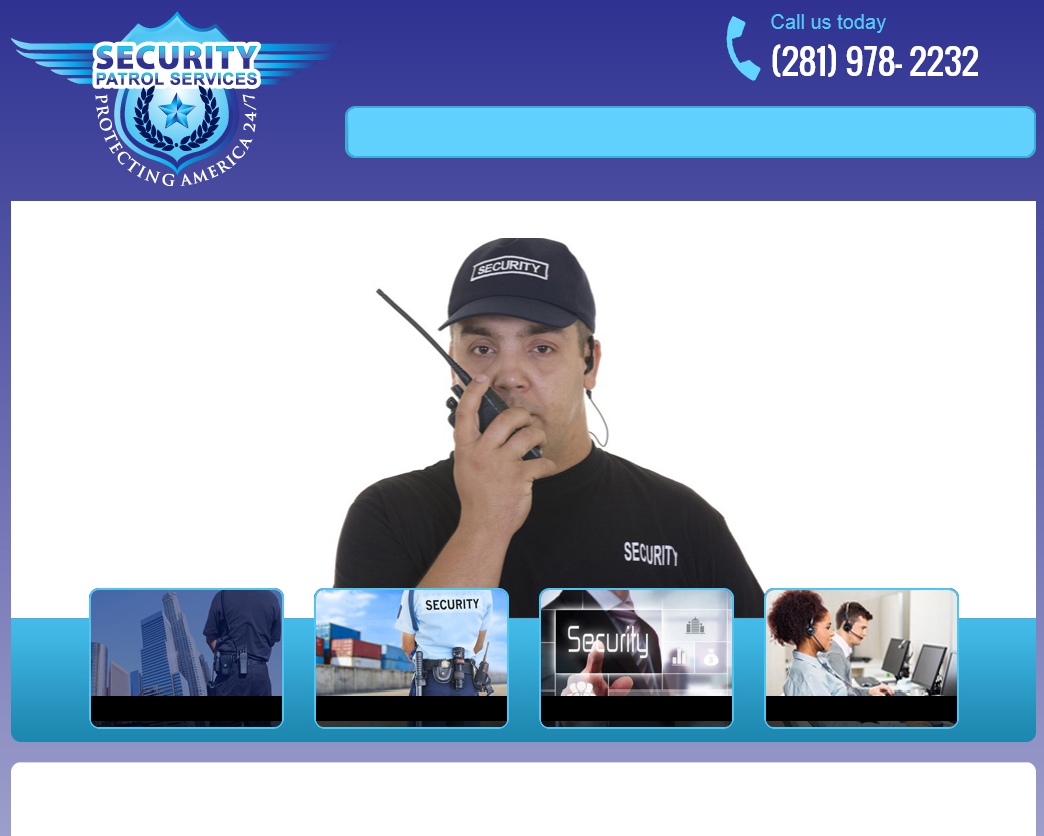 Security Guard Company Woodlands Texas