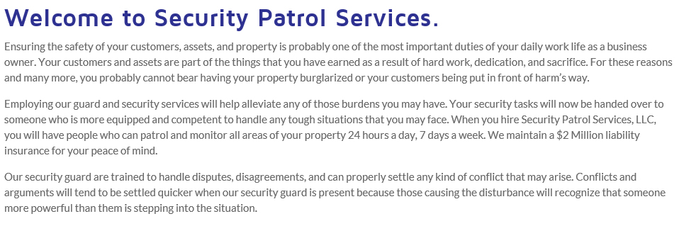 Security Guards – San Antonio, Texas